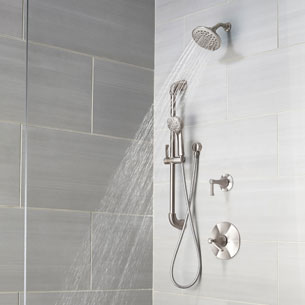Arterra Tub and Shower with Slide Bar